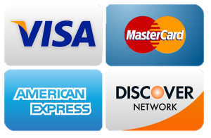 photo of 4 major credit cards