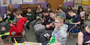 Kinawa 'History of Rock and Roll' class which features ukulele playing