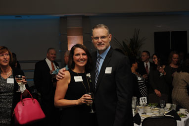 Cindy Wolff and David Wolff at the Awards Banquet