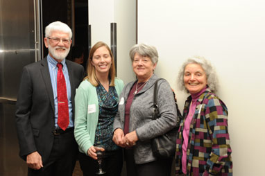 Peter and Mary Trezise, Christine Parkhurst, and Lynna Hassenger at the OEF Awards Banquet
